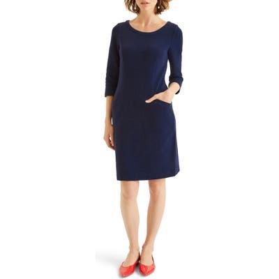 Boden Jasmine Ottoman Knit Dress, Blue