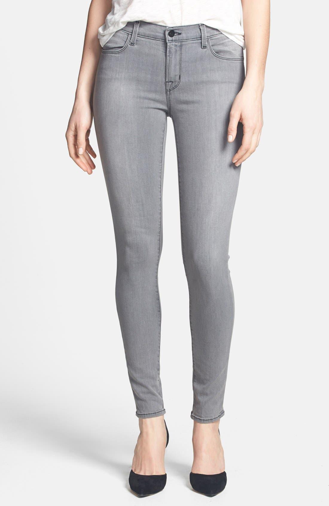 ,                             '620' Mid Rise Skinny Jeans,                             Alternate thumbnail 16, color,                             020