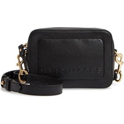 Marc Jacobs The Box Leather Crossbody Bag - Black