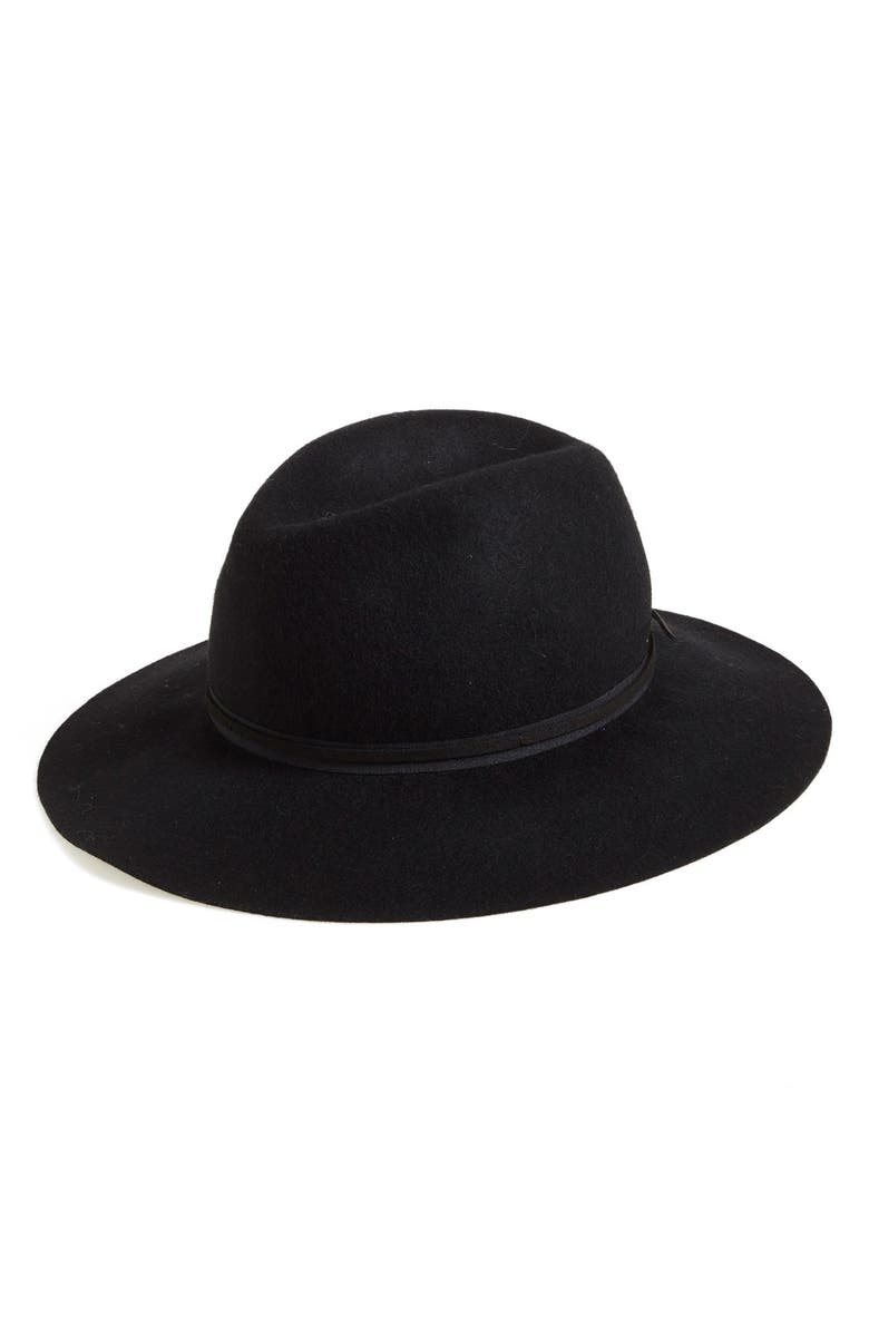 HINGE Felted Wool Panama Hat, Main, color, 001