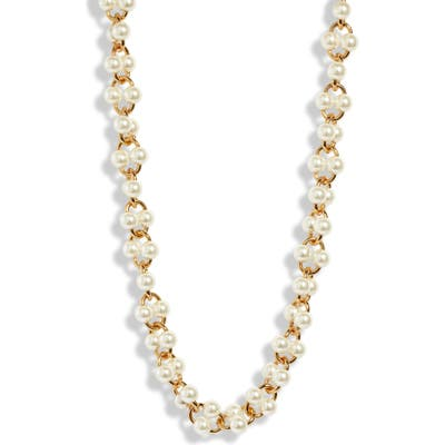 Kate Spade New York Nouveau Pearls Imitation Pearl Necklace