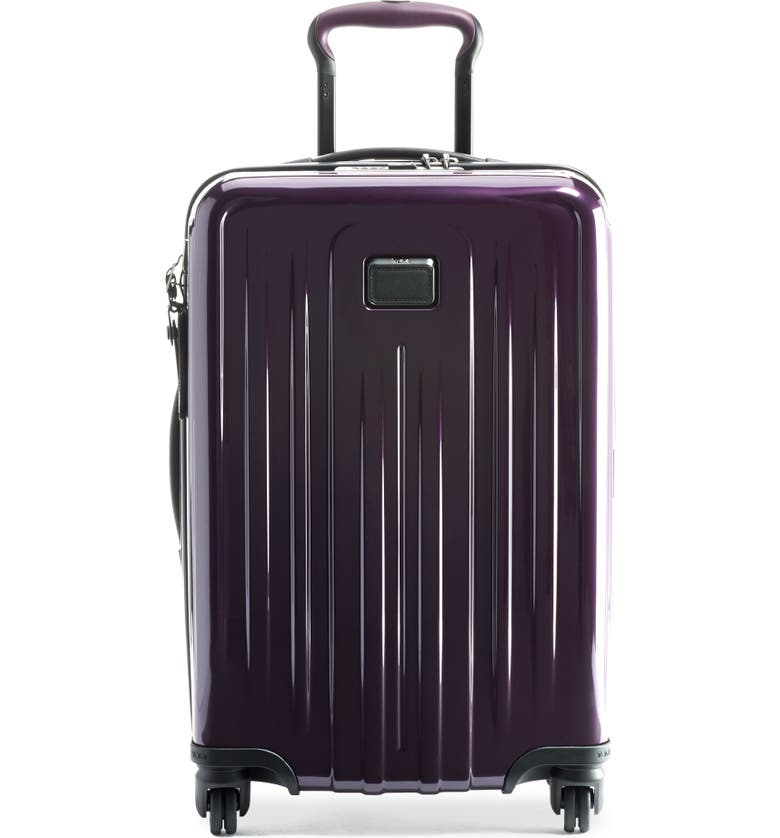 TUMI V4 Collection Expandable 22-Inch Spinner Carry-On Bag, Main, color, BLACKBERRY