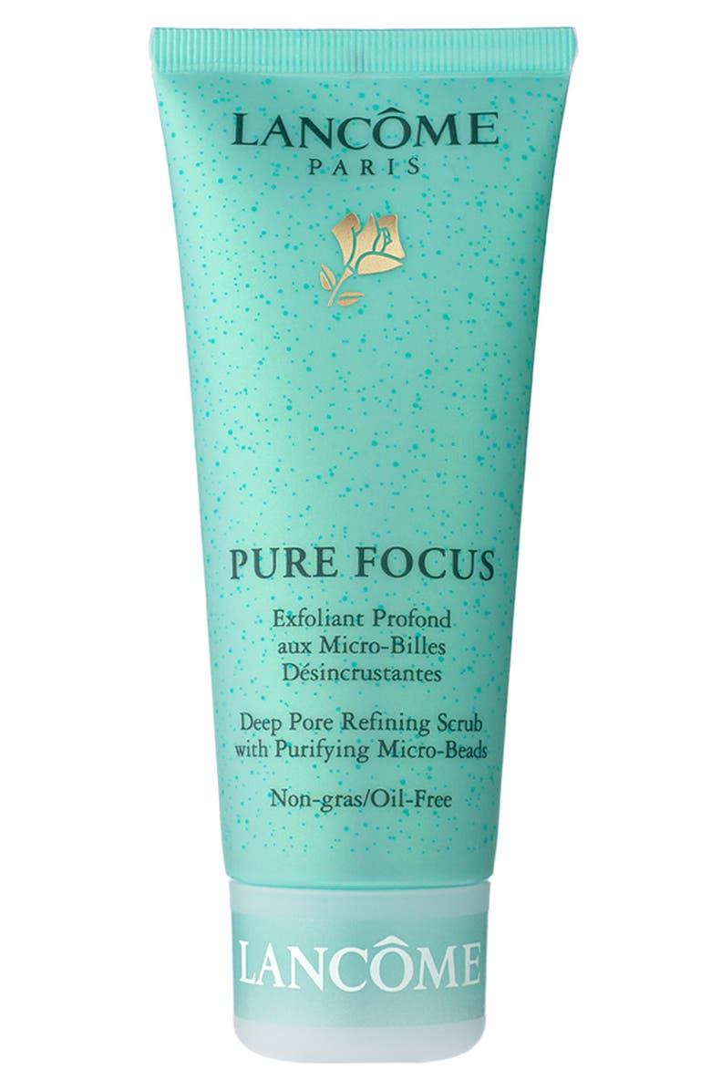 LANCÔME 'Pure Focus' Deep Pore Refining Scrub with Micro-Beads, Main, color, 000