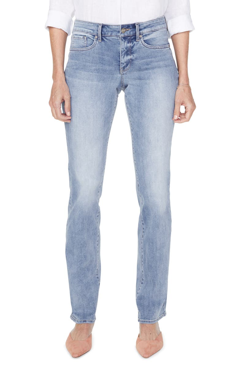 NYDJ Marilyn Straight Leg Jeans, Main, color, 450