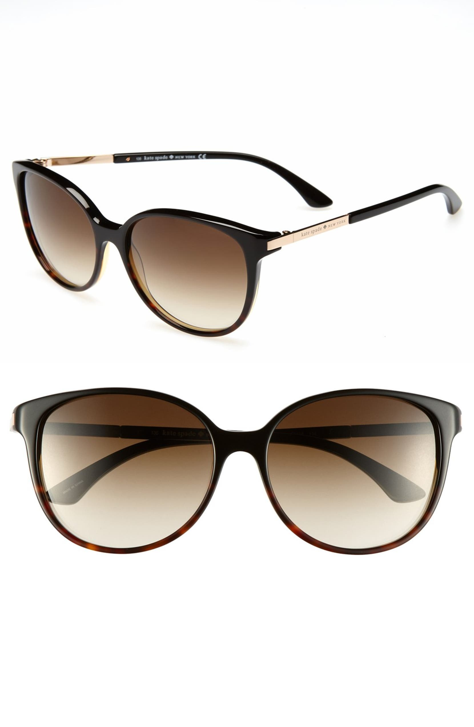 767c14e549ee kate spade new york 'shawna' 56mm sunglasses | Nordstrom