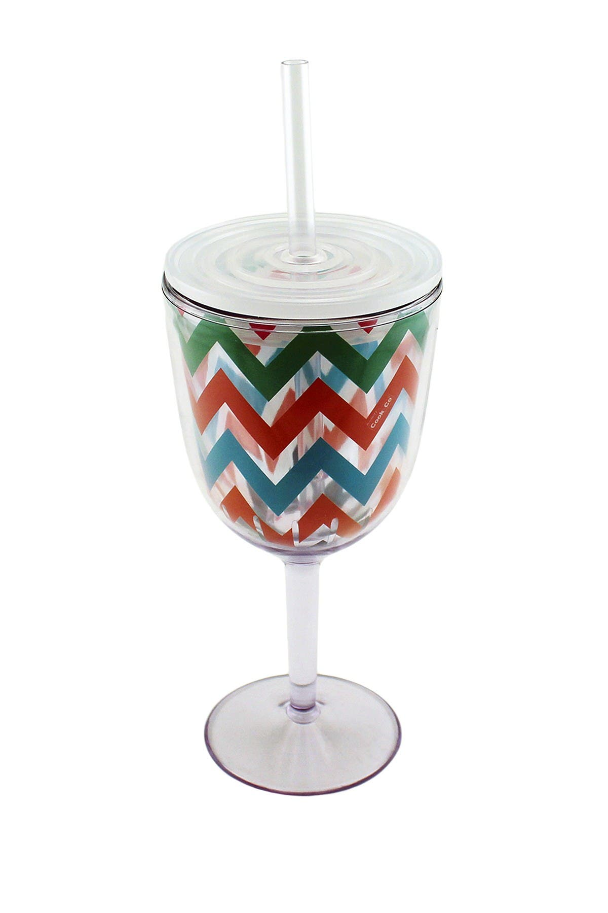BergHOFF Acrylic Chevron Pattern Wine Glass - Set of 4 at Nordstrom Rack