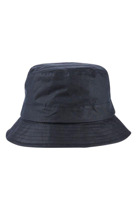 Barbour Hats LIGHTWEIGHT WAXED COTTON BUCKET HAT