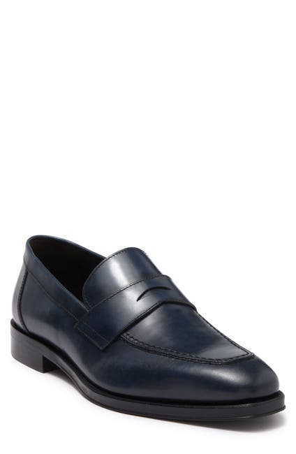 Image of Bruno Magli Martino Leather Loafer