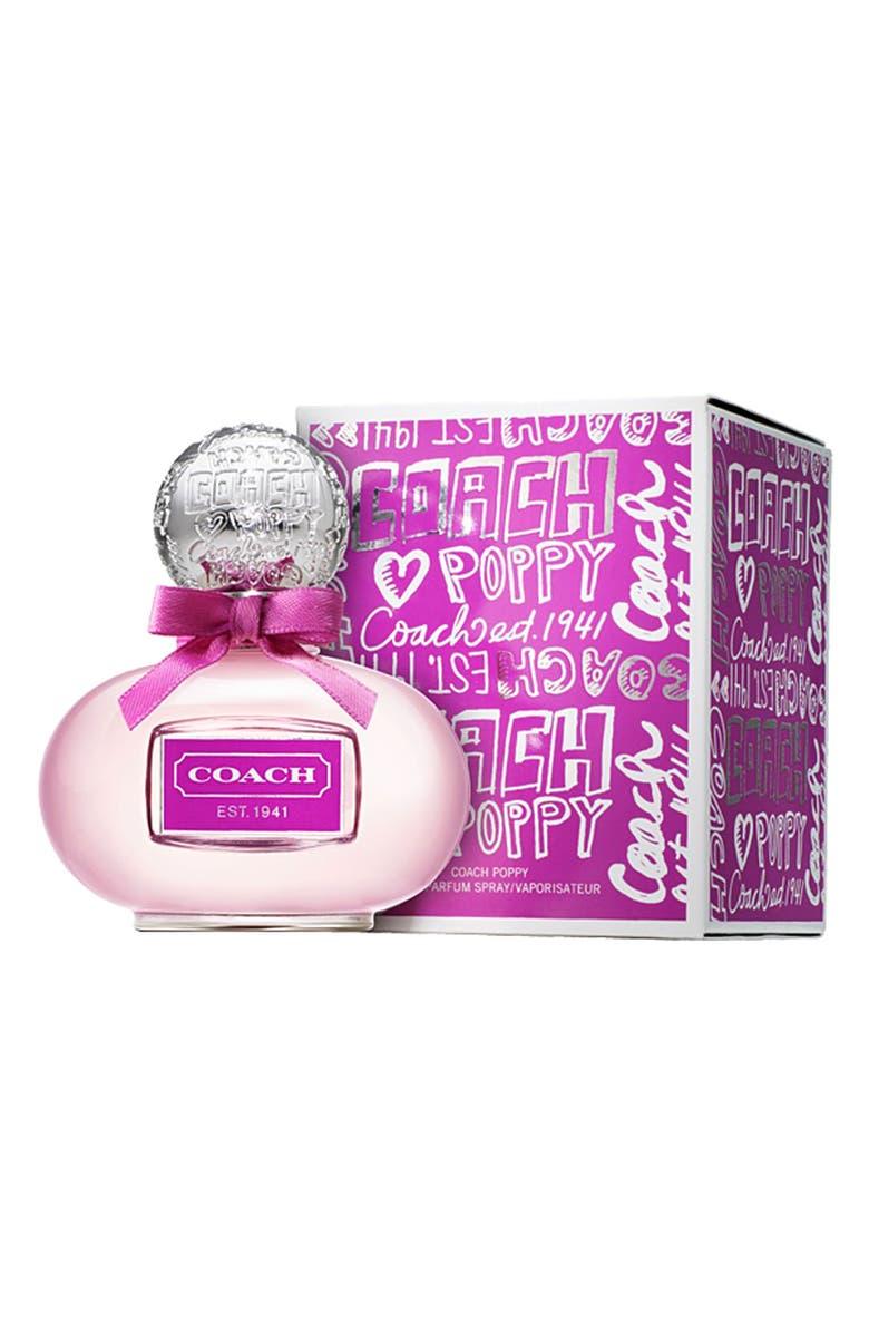 COACH 'Poppy Flower' Eau de Parfum Spray, Main, color, 000