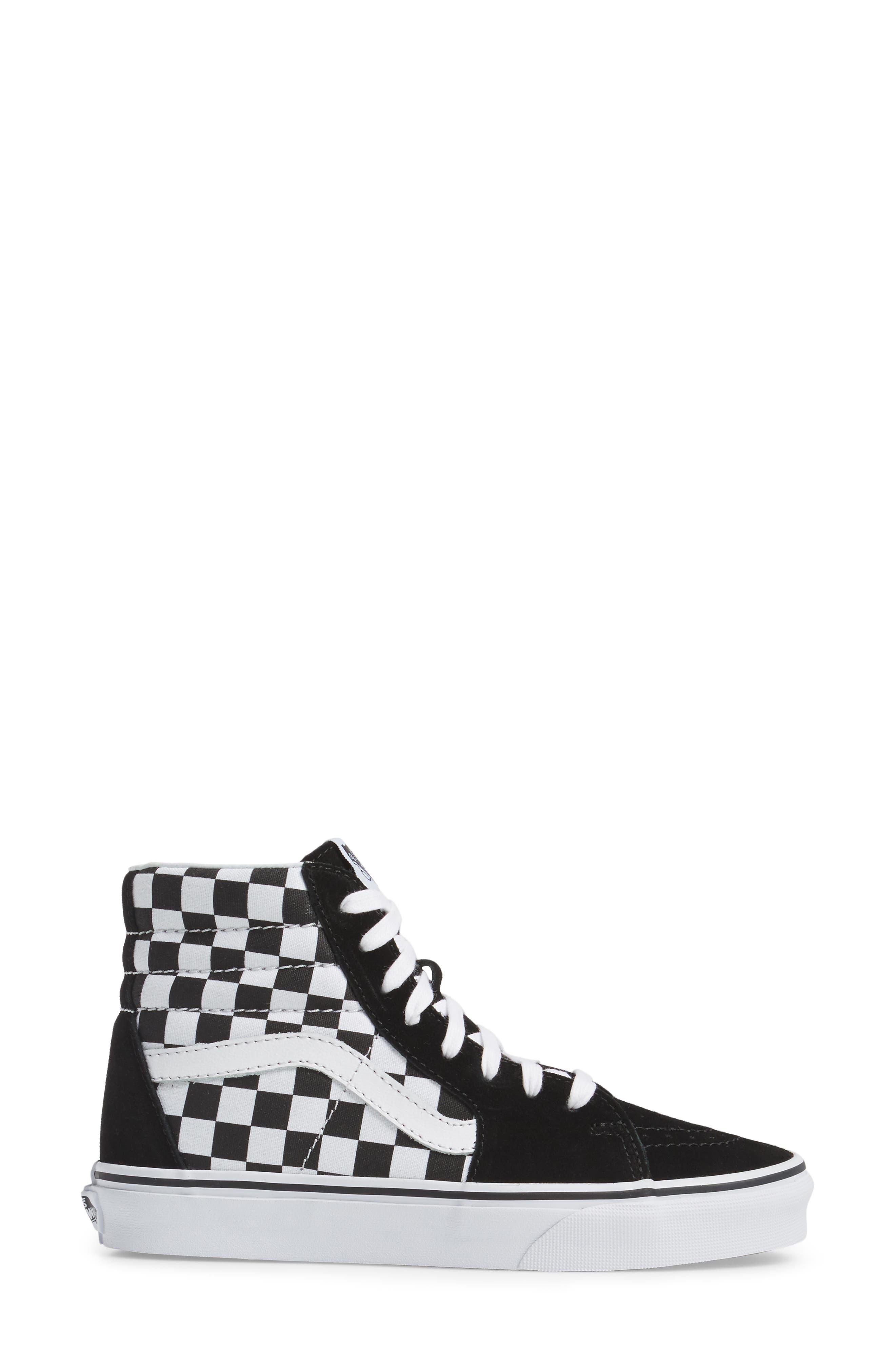,                             Sk8-Hi Checker Sneaker,                             Alternate thumbnail 31, color,                             002