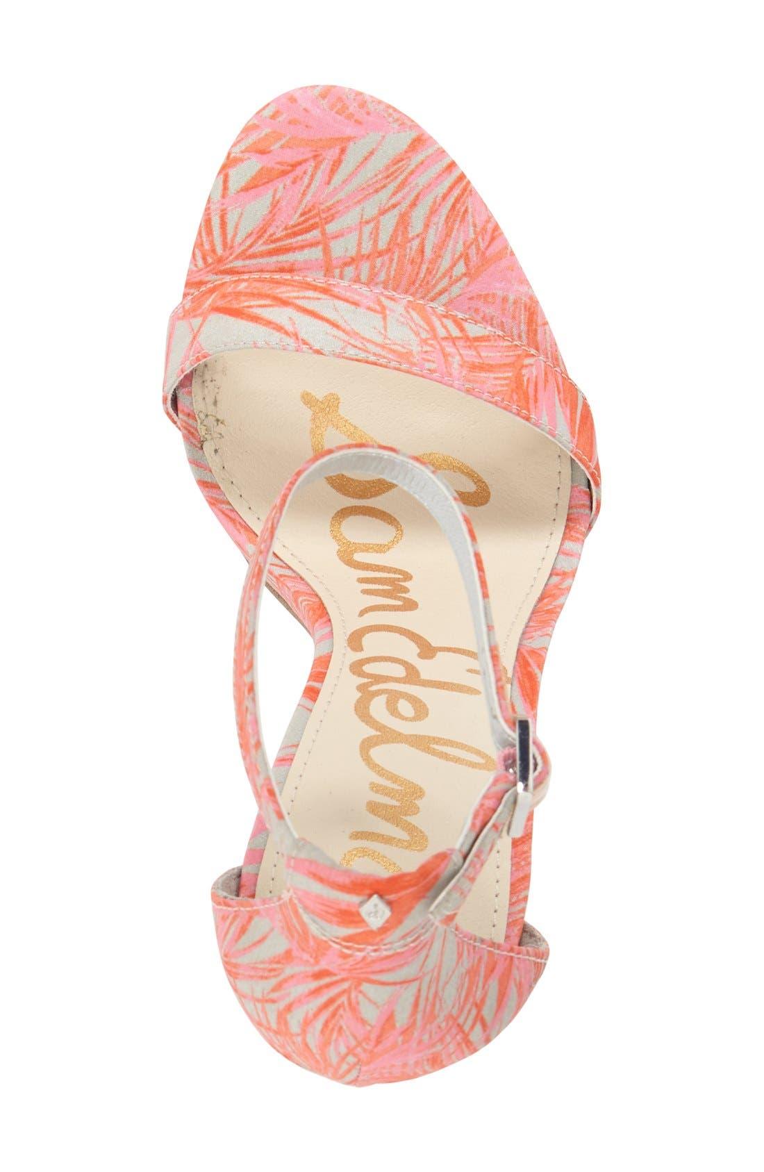 ,                             'Eleanor' Ankle Strap Sandal,                             Alternate thumbnail 58, color,                             022