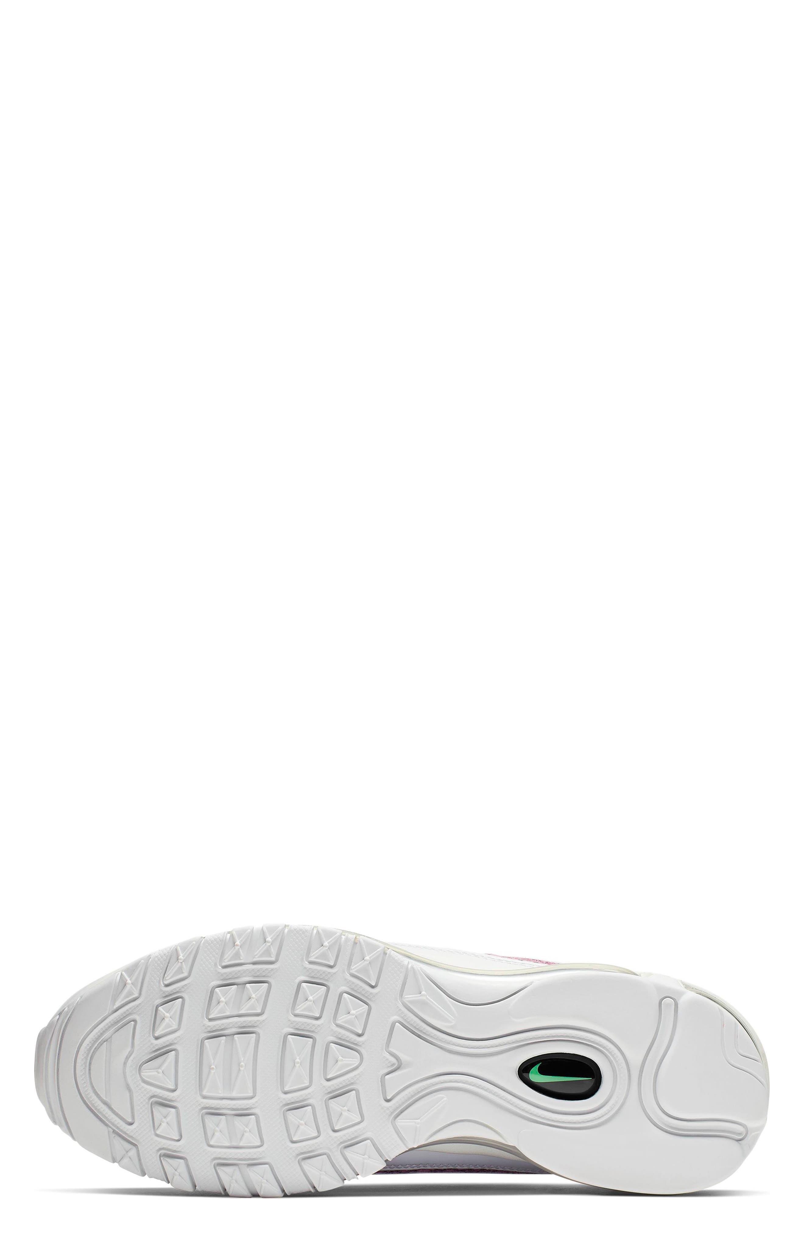 ,                             Air Max 98 Premium Sneaker,                             Alternate thumbnail 5, color,                             WHITE/ BLACK