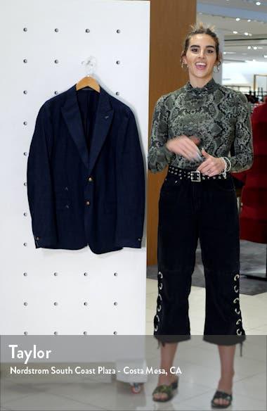 Trim Fit Solid Wool Blend Sport Coat, sales video thumbnail