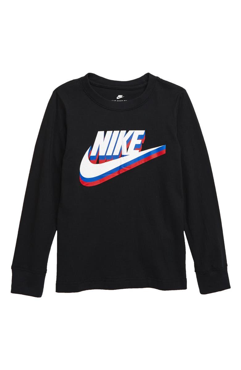 NIKE Stacked Futura Graphic T-Shirt, Main, color, 019