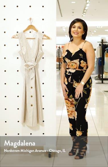 Stripe Button Front Dress, sales video thumbnail