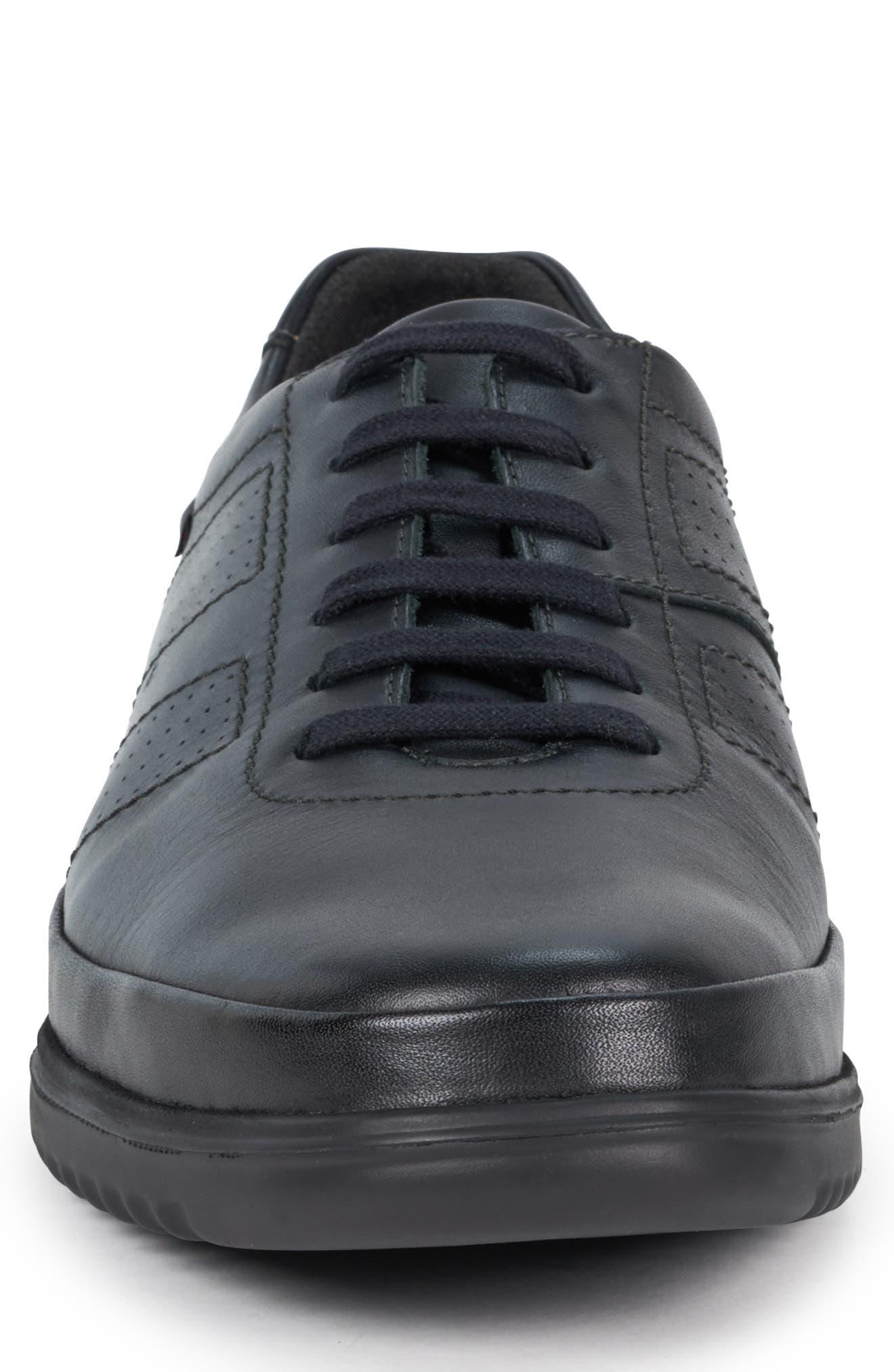 ,                             Tomy Sneaker,                             Alternate thumbnail 4, color,                             BLACK LEATHER