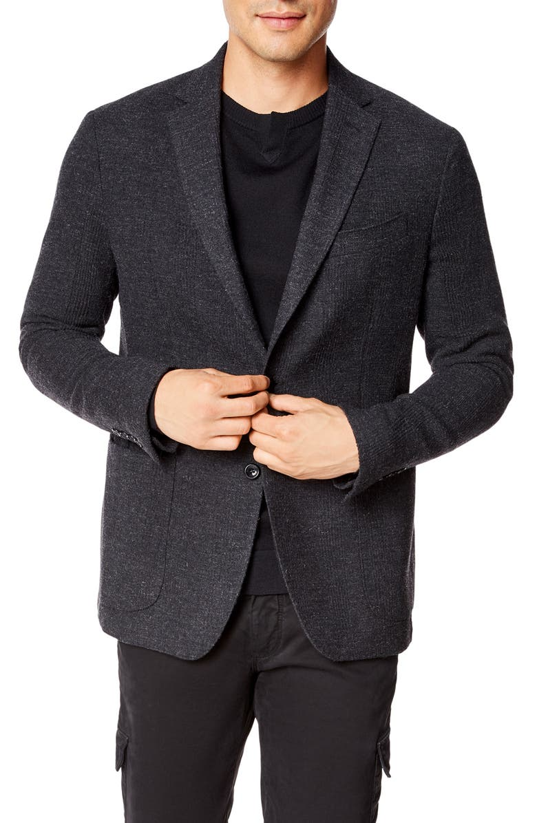 GOOD MAN BRAND Downtown Slim Fit Wool Blend Sport Coat, Main, color, 020