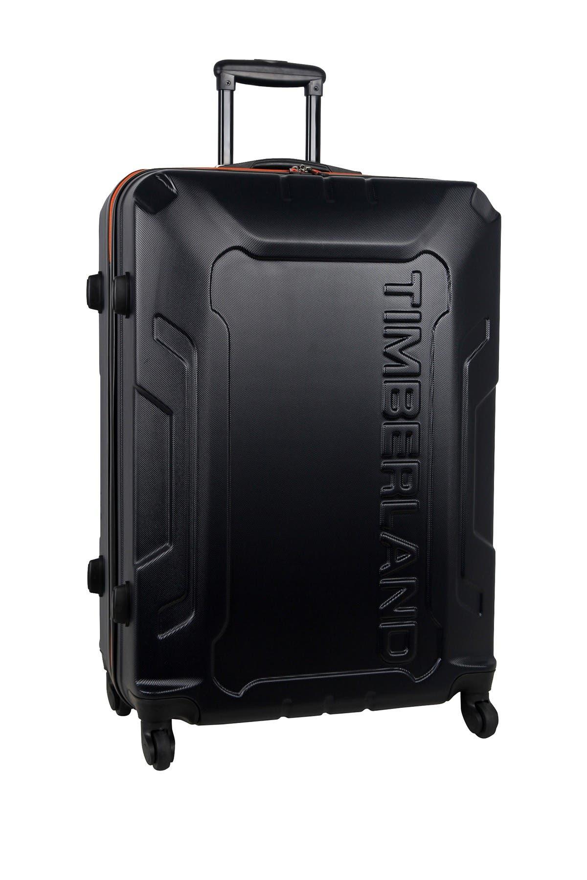 "Image of Timberland Blue Boscawen 28"" Hardside Spinner Suitcase"