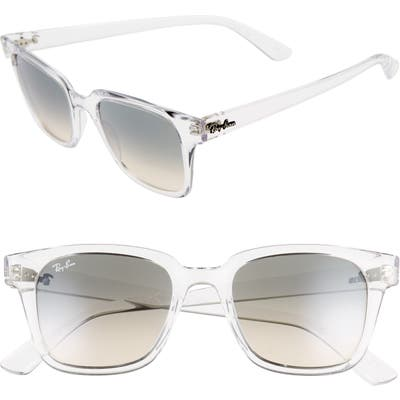 Ray-Ban Wayfarer 51Mm Sunglasses - Trans