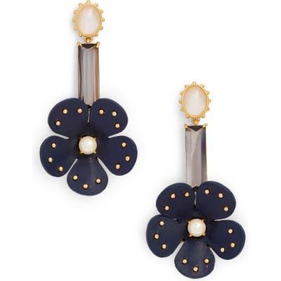 Kate Spade New York Leather Linear Earrings