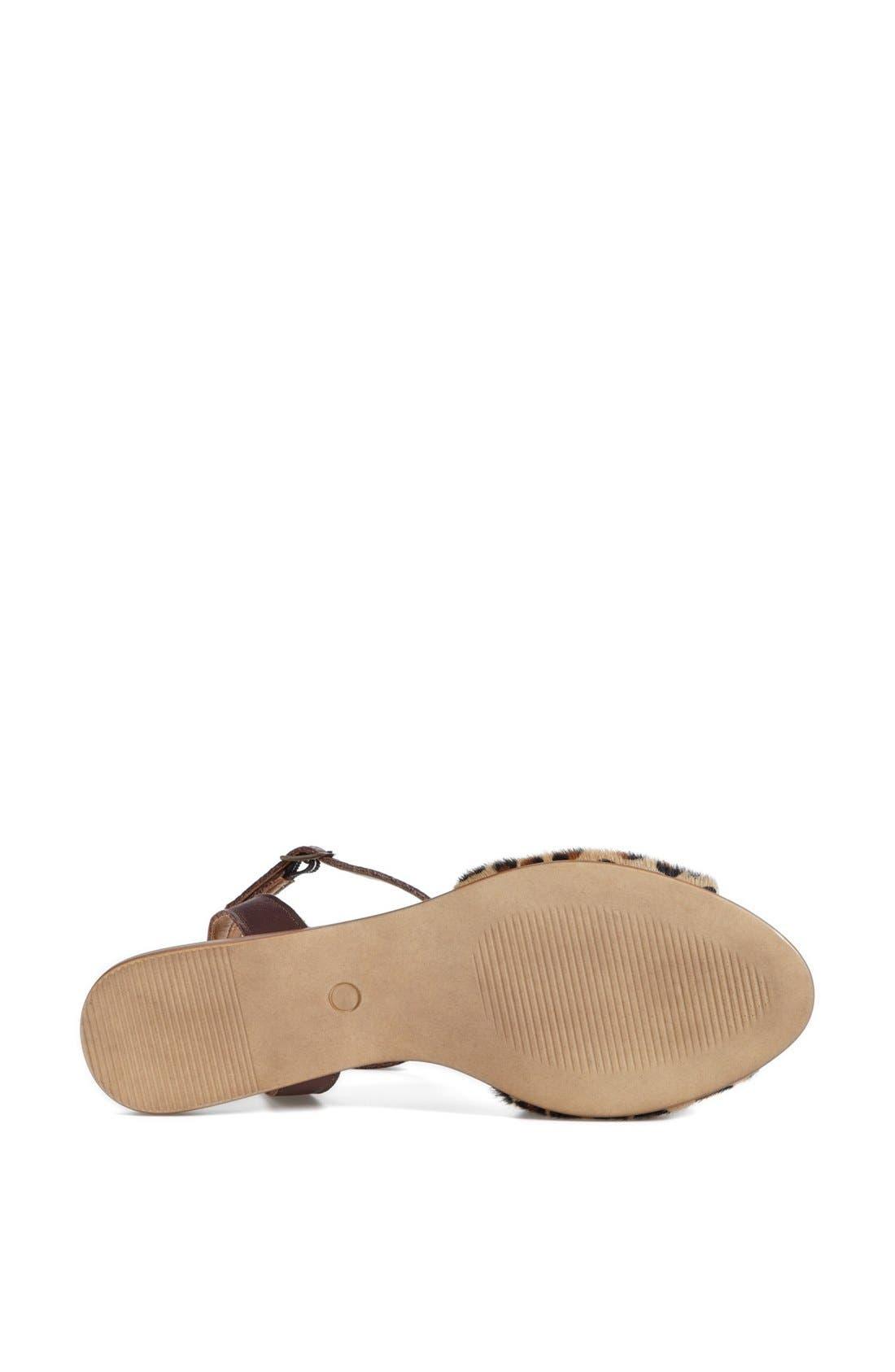 ,                             'Brand New' Ankle Strap Calf Hair Sandal,                             Alternate thumbnail 14, color,                             240
