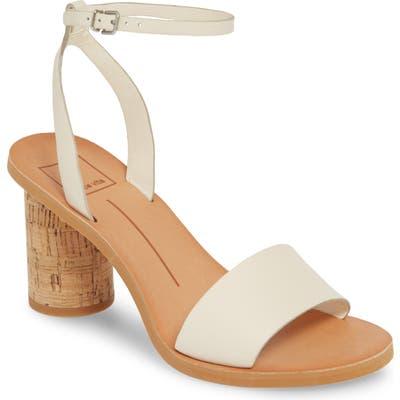 Dolce Vita Jali Column Heel Sandal- Ivory