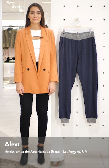 Puremeso Straight Leg Flannel Sweatpants, sales video thumbnail