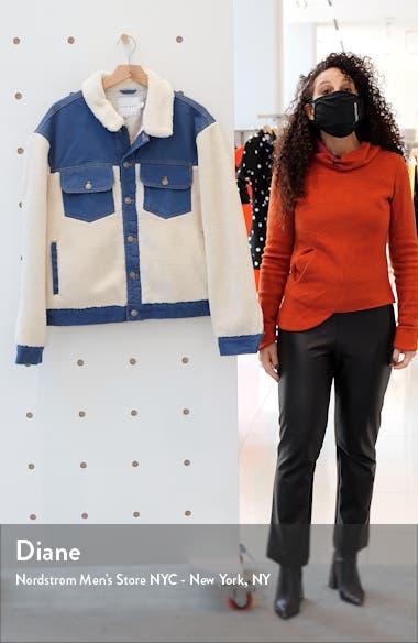 Cut & Sew Fleece & Denim Jacket, sales video thumbnail