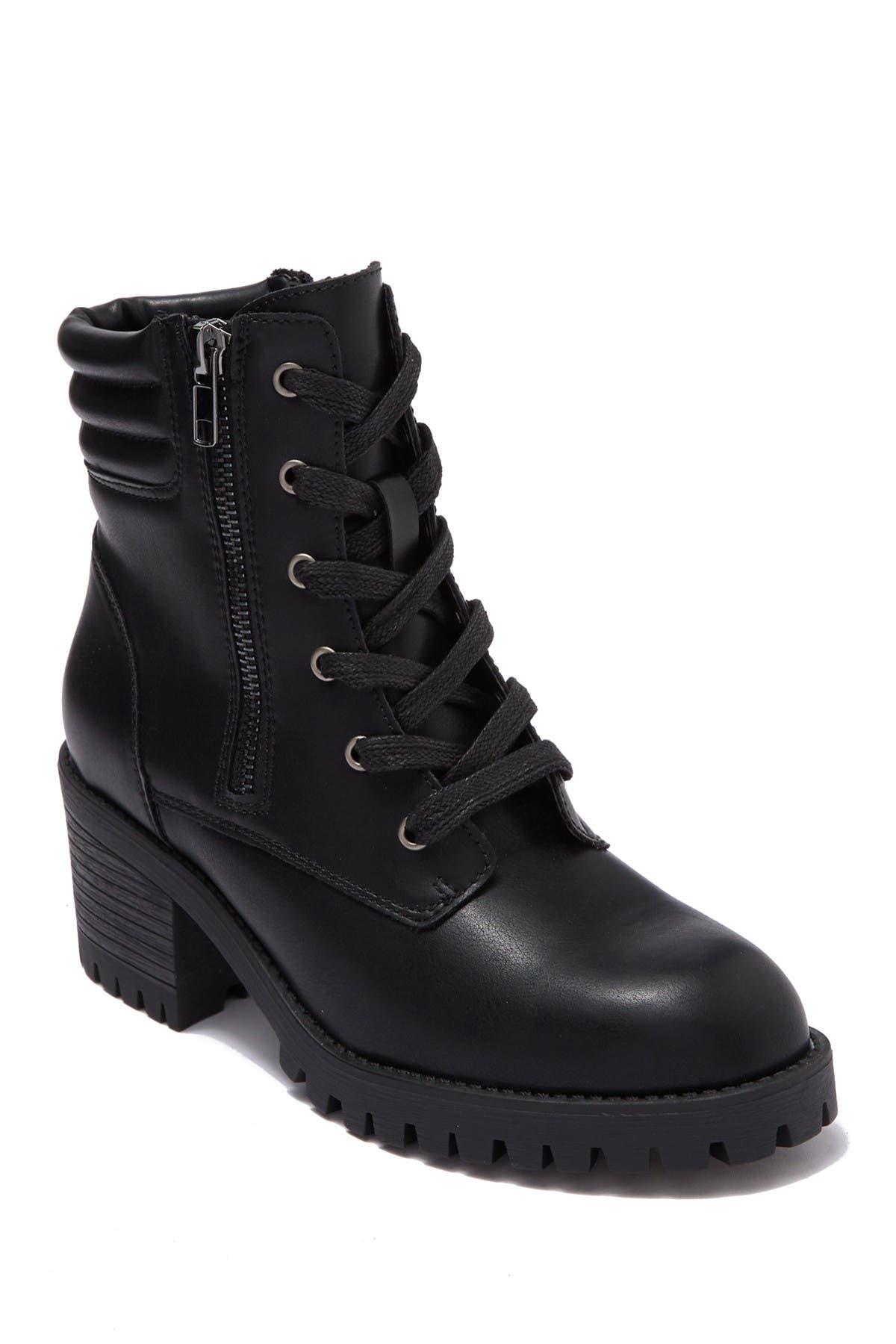 Image of Madden Girl Hushh Lug Sole Boot