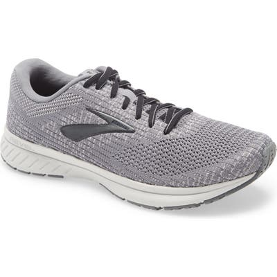 Brooks Revel 3 Running Shoe, 5 - Grey