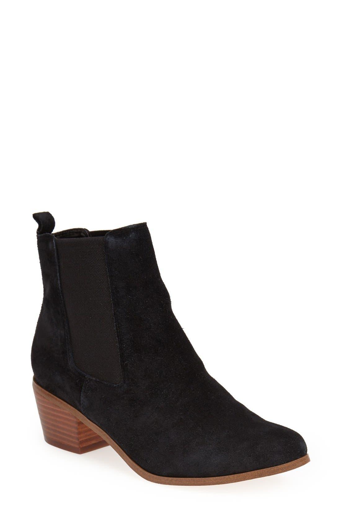 ,                             'Annex' Chelsea Ankle Boot,                             Main thumbnail 1, color,                             001