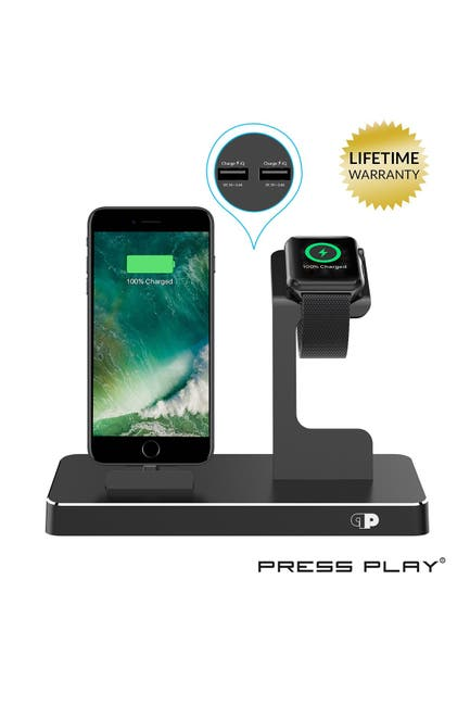 Image of PRESS PLAY One Dock Power Station - Black