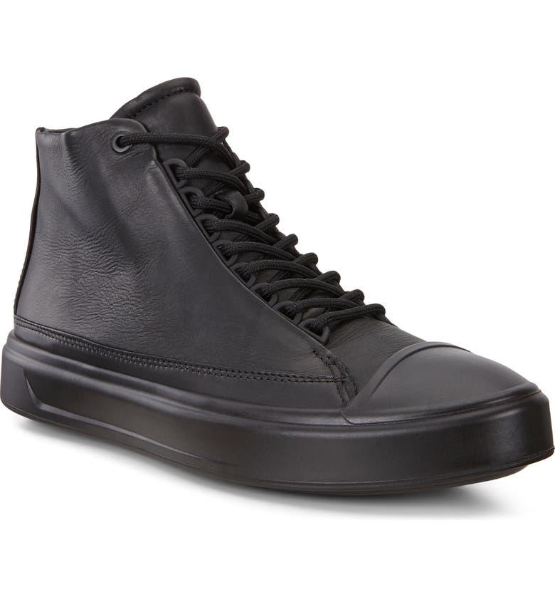 ECCO Flexure T-Cap Sneaker, Main, color, 008