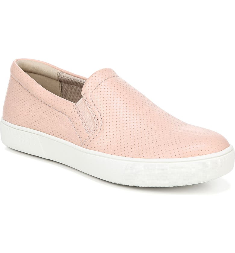 NATURALIZER Marianne Slip-On Sneaker, Main, color, ROSE PINK PERFORATED LEATHER