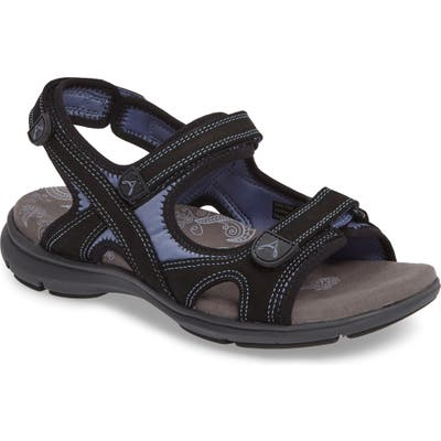 Aravon Rev Sandal - Black