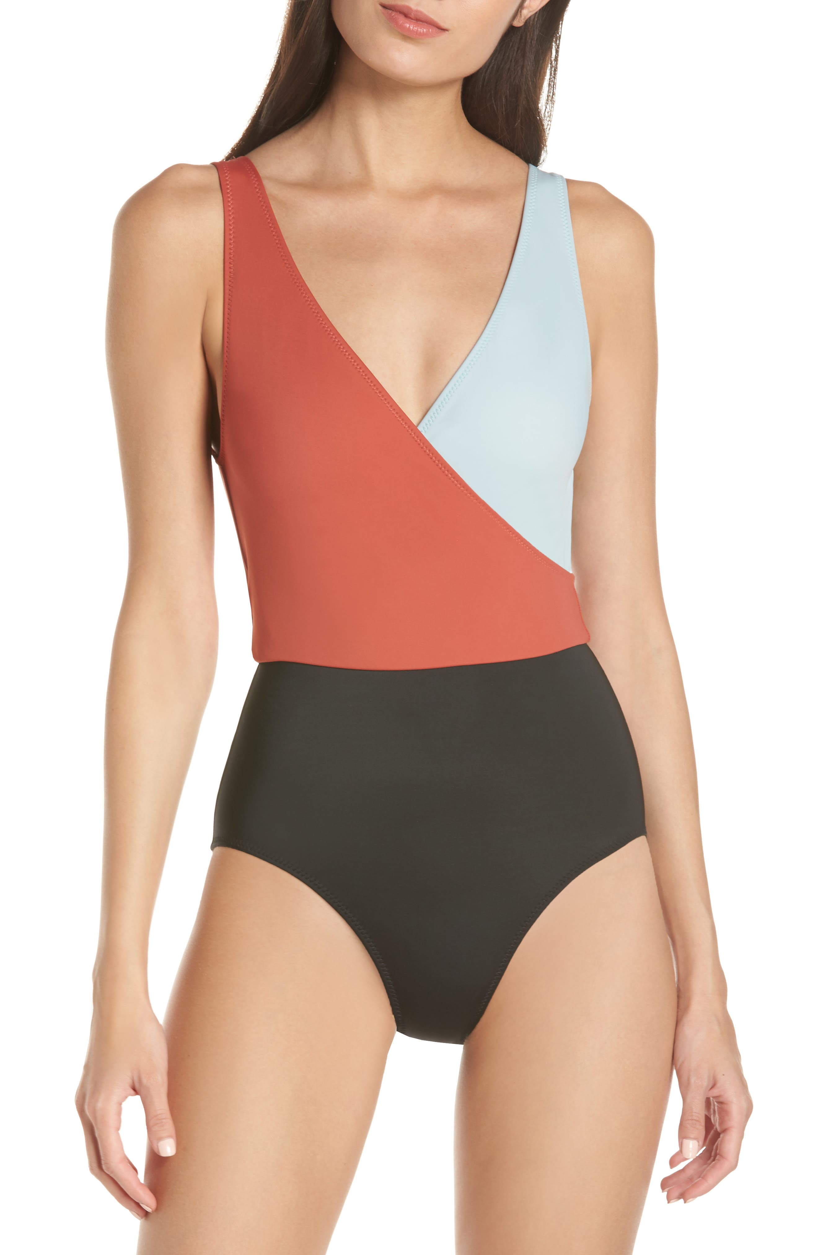 ,                             Ballerina One-Piece Swimsuit,                             Main thumbnail 1, color,                             400