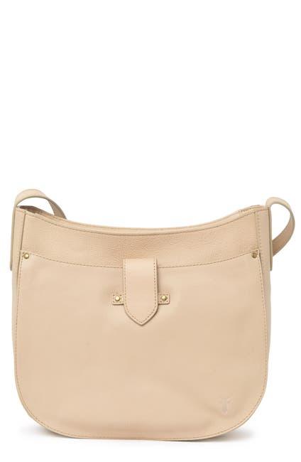Image of Frye Olivia Large Leather Crossbody Bag