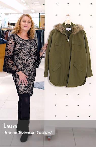 by BB Dakota Faux Fur Trim Coat, sales video thumbnail