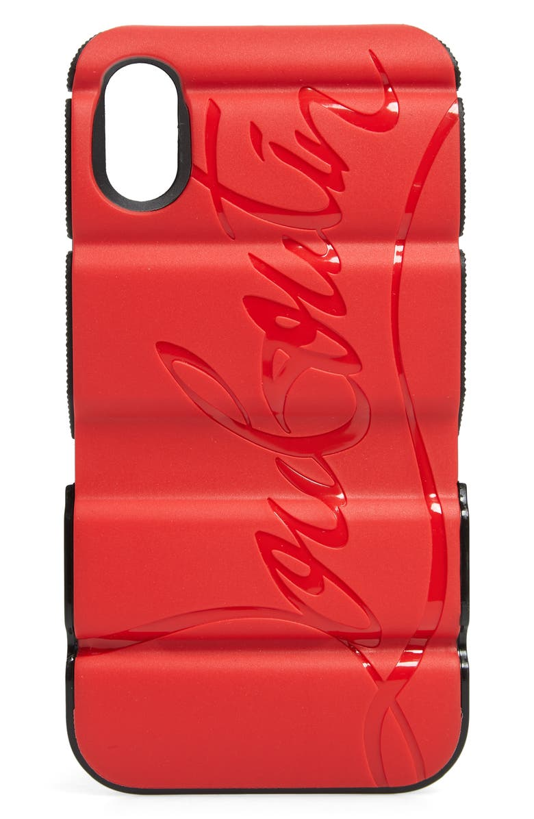 f0503b01c26 Christian Louboutin Red Runner iPhone X/Xs Case | Nordstrom
