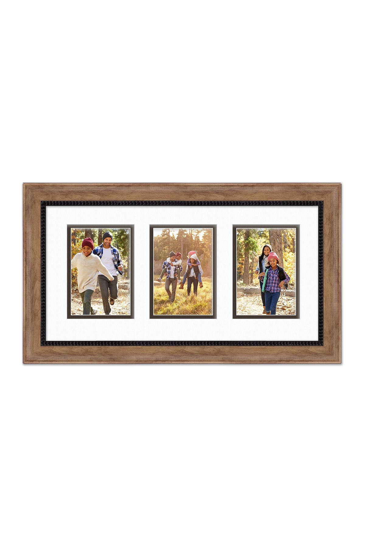 COURTSIDE MARKET Carbon Collection Oak Black 10x20 3-5x7 Openings Collage Frame at Nordstrom Rack