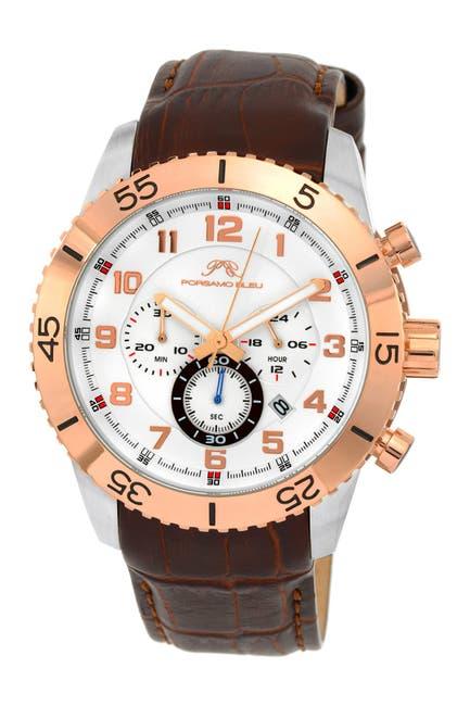 Image of Porsamo Bleu Men's Tristan Watch, 47mm
