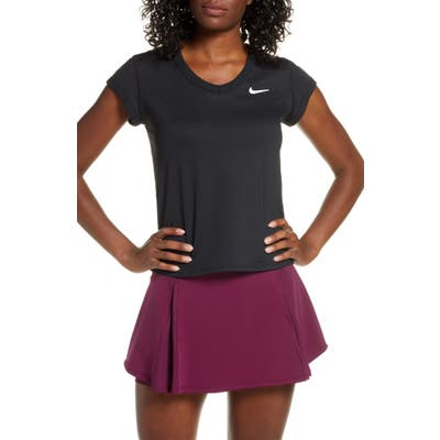 Nike Court Dri-Fit Top, Black