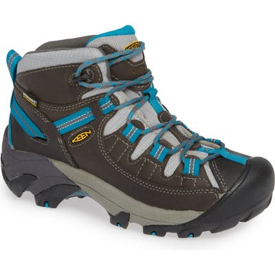 Keen Targhee Ii Mid Waterproof Hiking Boot- Grey