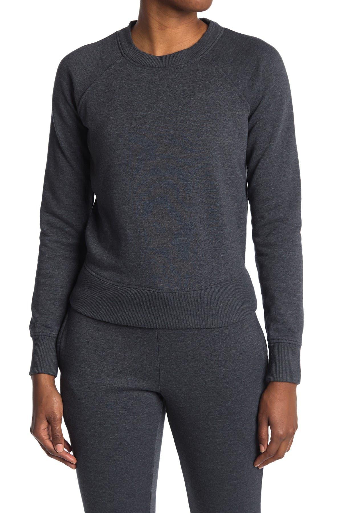 Image of 90 Degree By Reflex Stone Washed Sweatshirt