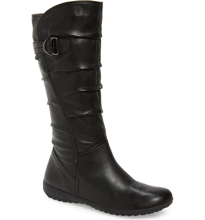 JOSEF SEIBEL Naly 23 Boot, Main, color, BLACK LEATHER