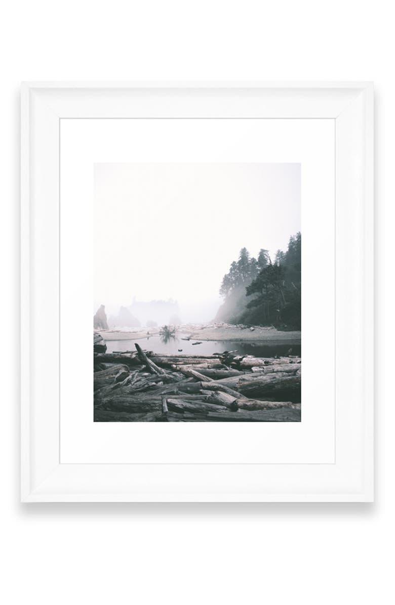 Deny Designs Washington Coast Art Print