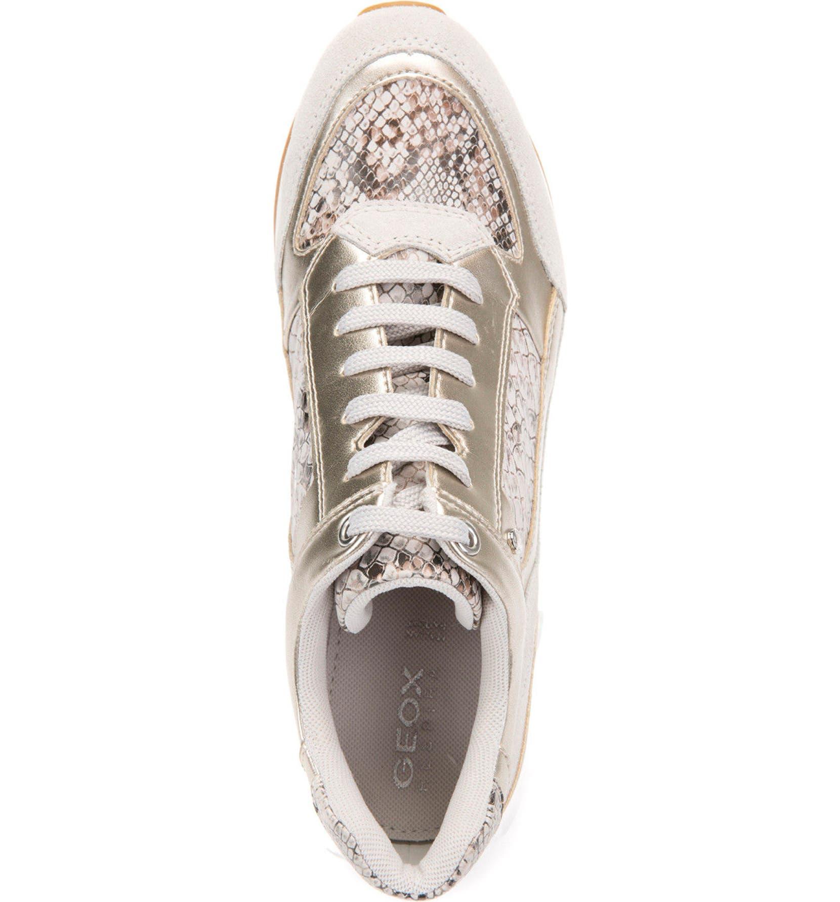 cfa0ca776fd Geox Nydame Embellished Wedge Sneaker (Women) | Nordstrom
