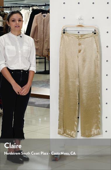 Metallic Wide Leg Pants, sales video thumbnail