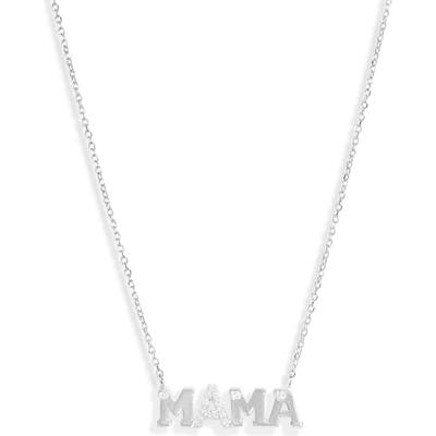 Anzie Love Letter Mama Necklace
