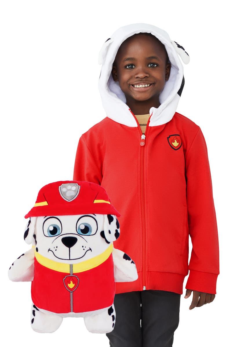 CUBCOATS Marshall 2-in-1 Stuffed Animal Hoodie, Main, color, 600
